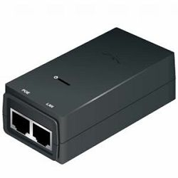 Gigabit PoE adapter 24V 0,5A (12W), w power cable (EU)