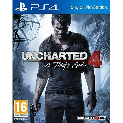 Uncharted 4: A Thief's End Standard Plus PS4