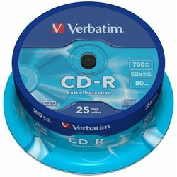 Verbatim CD-R 52x 80min Extra Protection