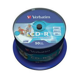 Verbatim CD-R 80min Full Face Printable