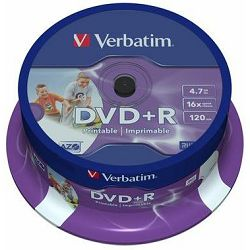 Verbatim DVD+R 16x Photo Printable