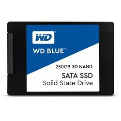 Western Digital 250GB SSD, Blue 3D, SATA