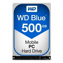 Western Digital HDD, 500GB-5400RPM-2,5'-SATA-16