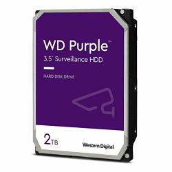 Western Digiital HDD, 2TB, Intelli, WD Purple