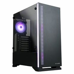 Zalman S5 black mid tower case
