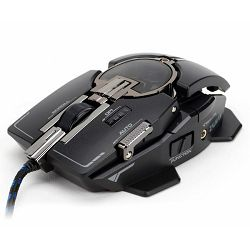 Zalman USB laser gaming mouse 8200DPI, black