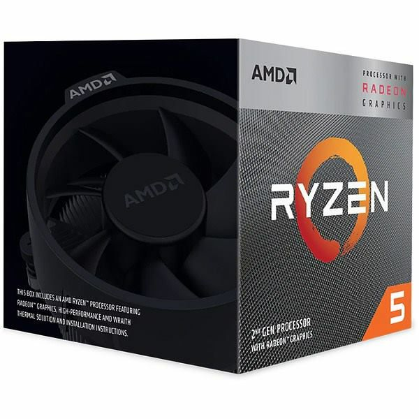 AMD Ryzen 5 3400G Box, AM4