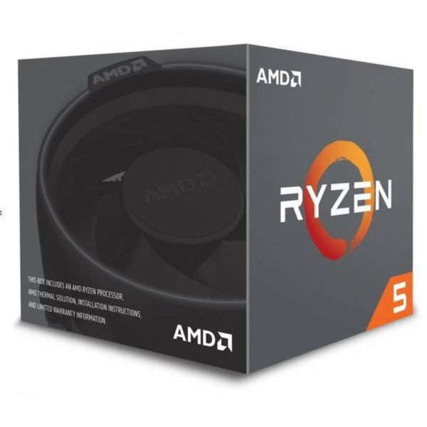 AMD Ryzen 5 2600X AM4, 3.6GHz, box cpu