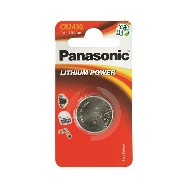 PANASONIC baterije male CR2430L/1BP